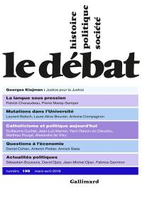 Débat (Le). n° 199