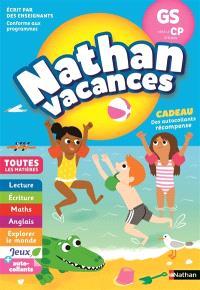 Nathan vacances, GS vers le CP, 5-6 ans : toutes les matières
