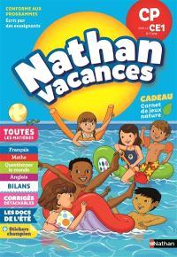 Nathan vacances, CP vers le CE1, 6-7 ans : toutes les matières