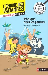 Panique chez les pandas : du CP au CE1, 6-7 ans : conforme aux programmes