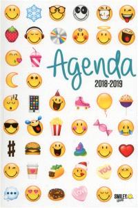 Smiley emoticônes : agenda 2018-2019