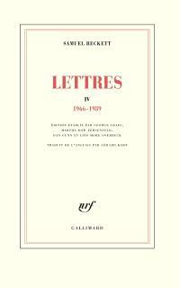 Lettres. Volume 4, 1966-1989