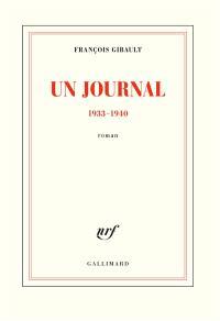 Un journal : 1933-1940