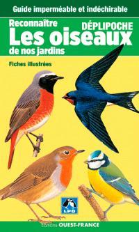 Reconnaître les oiseaux de nos jardins : fiches illustrées