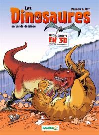 Les dinosaures en bande dessinée, Spécial combats en 3D