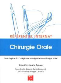 Référentiel internat : chirurgie orale