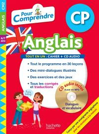 Pour comprendre l'anglais CP, 6-7 ans