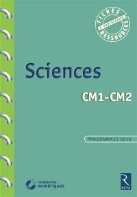 Sciences, CM1, CM2 : programme 2016