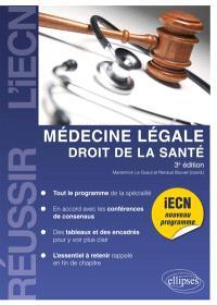 Médecine légale, droit de la santé