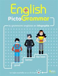 English pictogrammar : la grammaire anglaise en infographie