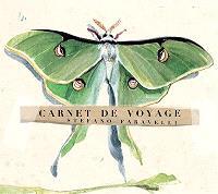 Carnet de voyage : papillon