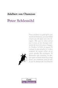 Peter Schlemihl. Suivi de L'ombre et la vitesse