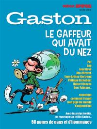 Méga Spirou, hors-série, Gaston : le gaffeur qui avait du nez