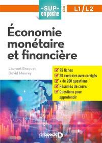 Economie monétaire et financière, L1-L2