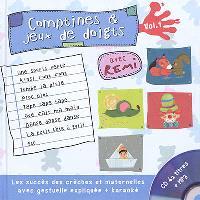 Comptines et jeux de doigts. Volume 1