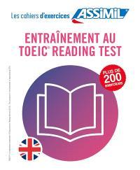 Entraînement au TOEIC reading test