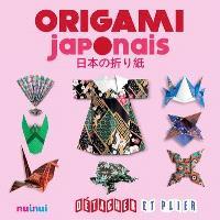 Origami japonais : détacher et plier
