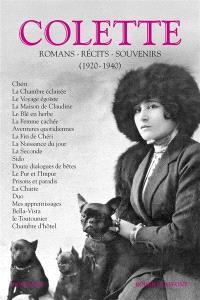 Romans, récits, souvenirs. Volume 2, 1920-1940