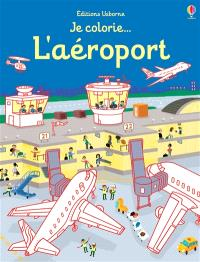 Je colorie... l'aéroport