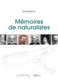 Mémoires de naturalistes