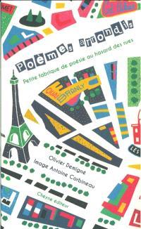 Poèmes arrondis : petite fabrique de poésie au hasard des rues