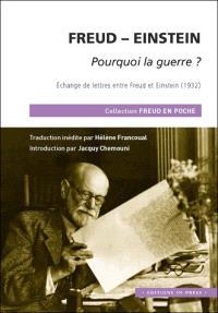 Pourquoi la guerre ? : échange de lettres entre Freud et Einstein (1932)
