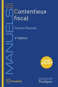Contentieux fiscal : année 2018-2019