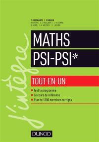 Maths PSI, PSI* : tout-en-un