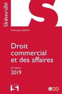 Droit commercial et des affaires : 2019