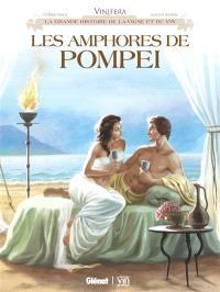 Les amphores de Pompéi