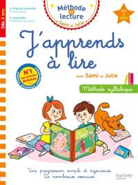 J'apprends à lire avec Sami et Julie, dès 5 ans : méthode syllabique