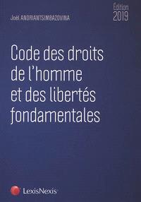 Code des droits de l'homme et des libertés fondamentales 2019