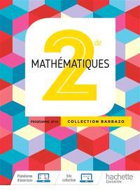 Mathématiques 2de : programme 2019