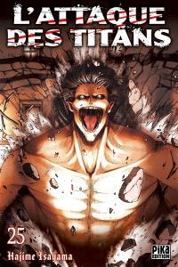 L'attaque des titans. Volume 25