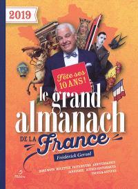 Le grand almanach de la France 2019