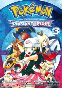 Pokémon : la grande aventure : Diamant et Perle. Volume 3
