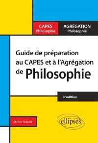 Guide de préparation au Capes et à l'agrégation de philosophie