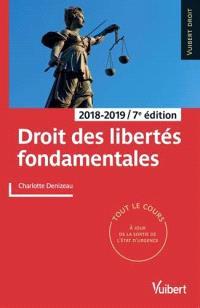 Droit des libertés fondamentales : 2018-2019