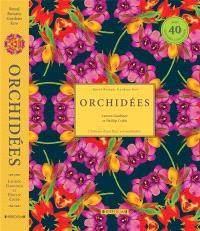 Orchidées : l'histoire d'une fleur extraordinaire : la fascinante histoire de plus de 40 orchidées à travers les archives de Kew Gardens, et 40 superbes gravures