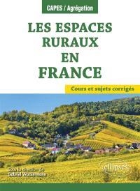 Les espaces ruraux en France : cours et sujets corrigés