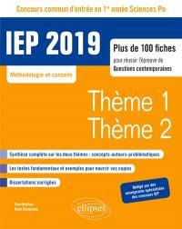 Le numérique, le secret : concours commun d'entrée en 1re année Sciences Po, IEP 2019 : plus de 100 fiches pour réussir l'épreuve de questions contemporaines, méthodologie et conseils