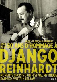 50 ans de festival Django Reinhardt : 1968-2018