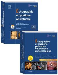 Echographie en pratique gynécologique et obstétricale : pack 2 tomes