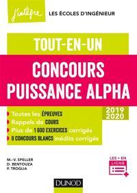 Concours Puissance Alpha 2019-2020 : tout-en-un