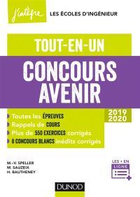 Concours Avenir 2019-2020 : tout-en-un