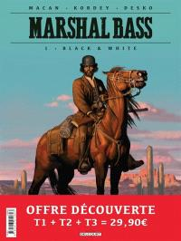 Marshal Bass : pack tomes 1 à 3