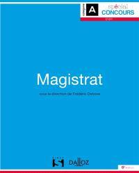 Magistrat : spécial concours ENM, catégorie A