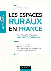 Les espaces ruraux en France : Capes-agrégation : histoire géographie