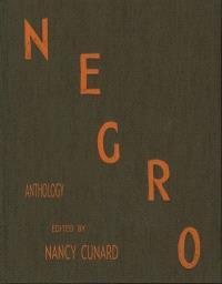 Negro anthology
