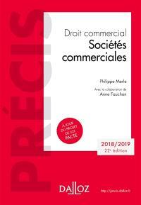 Droit commercial : sociétés commerciales : 2018-2019